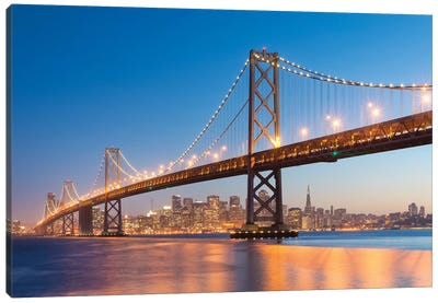 Spectacular San Francisco Canvas Art Print