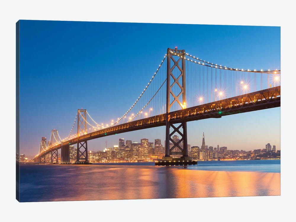 Spectacular San Francisco by Stefan Hefele 1-piece Canvas Art Print