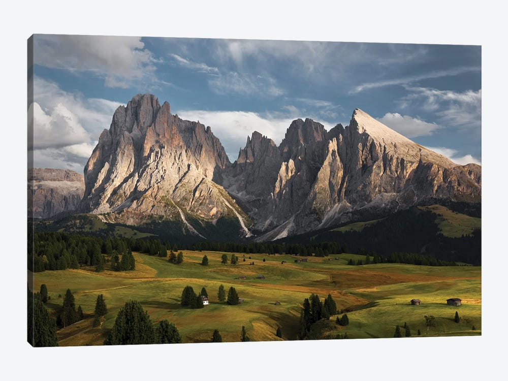 The Coronation Of The Alps by Stefan Hefele 1-piece Canvas Print