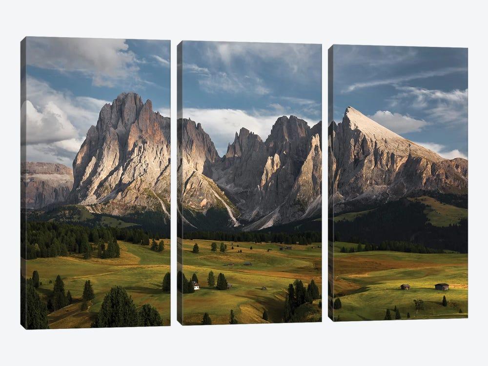 The Coronation Of The Alps by Stefan Hefele 3-piece Art Print