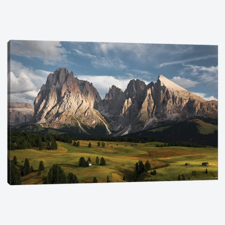The Coronation Of The Alps Canvas Print #STF154} by Stefan Hefele Art Print