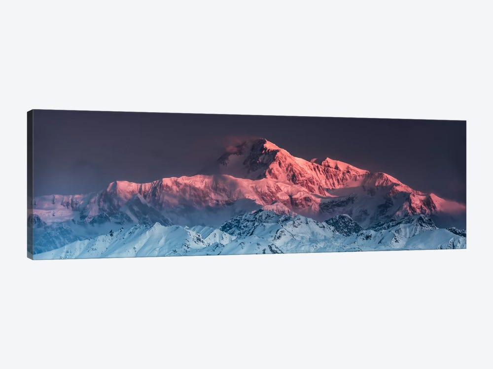 Awe - Mount McKinley by Stefan Hefele 1-piece Canvas Wall Art