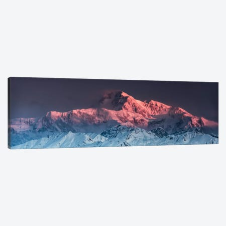 Awe - Mount McKinley Canvas Print #STF15} by Stefan Hefele Art Print