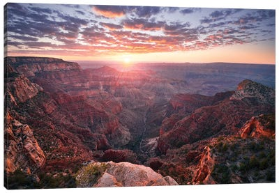 The Grand Canyon Canvas Art Print