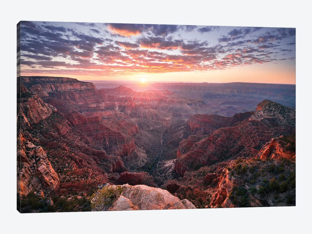 The Grand Canyon by Stefan Hefele 1-piece Canvas Print