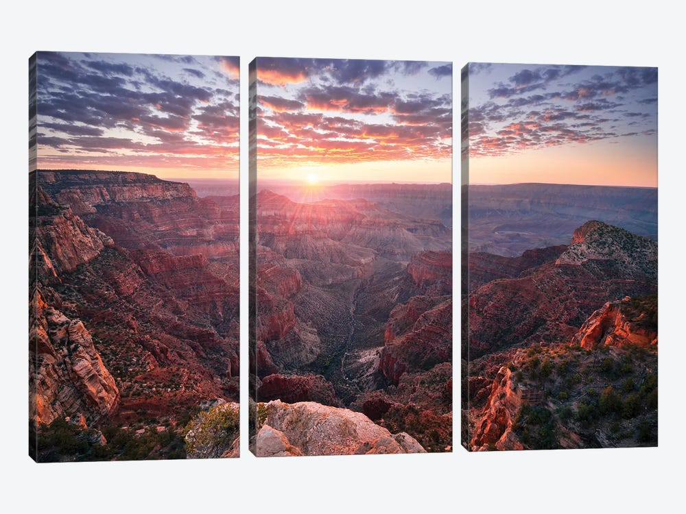 The Grand Canyon by Stefan Hefele 3-piece Art Print