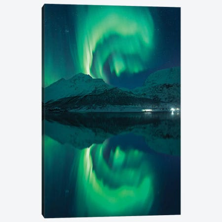 The Heavenly Magician Canvas Print #STF163} by Stefan Hefele Art Print