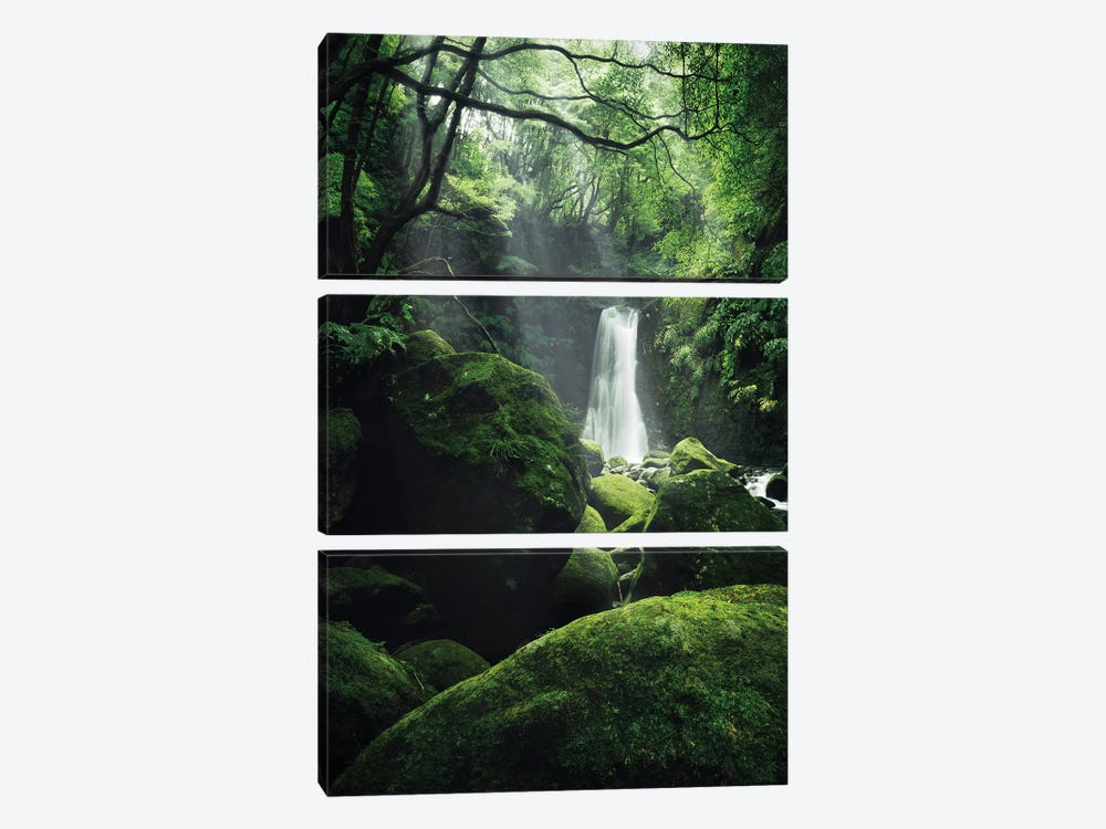 The Luscious Grotto by Stefan Hefele 3-piece Art Print