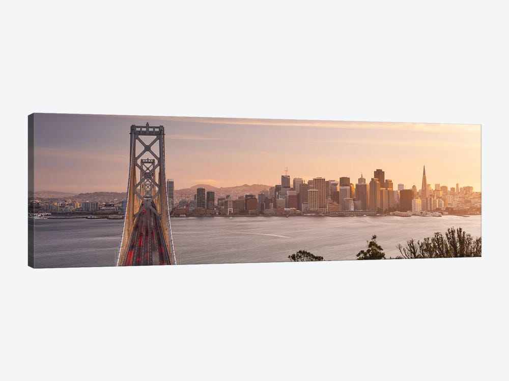 Touch Of Bronze - San Francisco by Stefan Hefele 1-piece Canvas Art Print