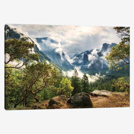 Unique Paradise - Yosemite Canvas Print #STF175} by Stefan Hefele Art Print