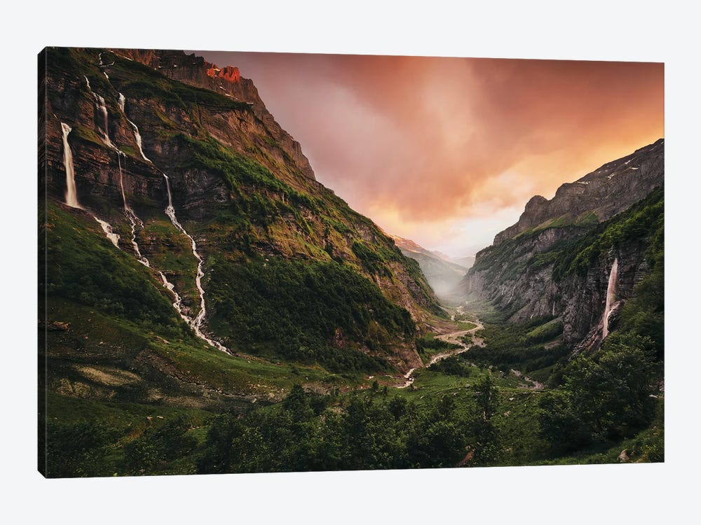 Vallée Eden by Stefan Hefele 1-piece Canvas Print