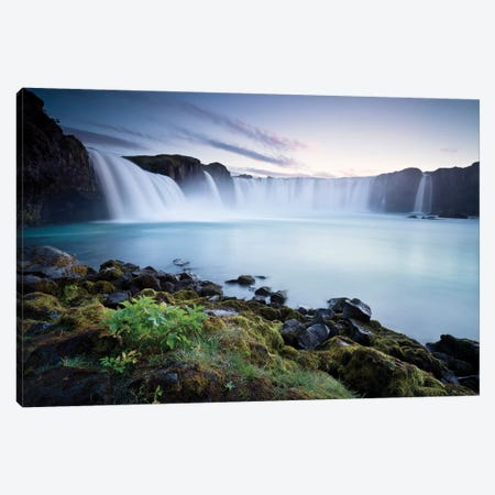 Waterfall Of The Gods Canvas Print #STF181} by Stefan Hefele Canvas Art Print