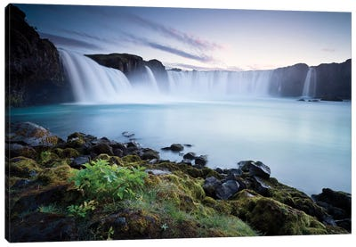 Waterfall Of The Gods Canvas Art Print
