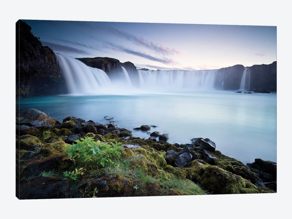 Waterfall Of The Gods 1-piece Art Print