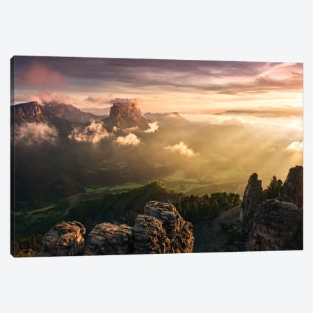 Wild Wild West Canvas Print #STF183} by Stefan Hefele Canvas Art Print