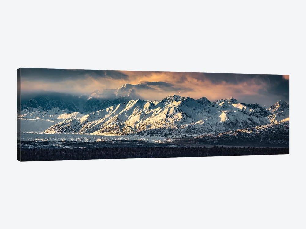 Your Majesty - Denali, Alaska by Stefan Hefele 1-piece Canvas Print