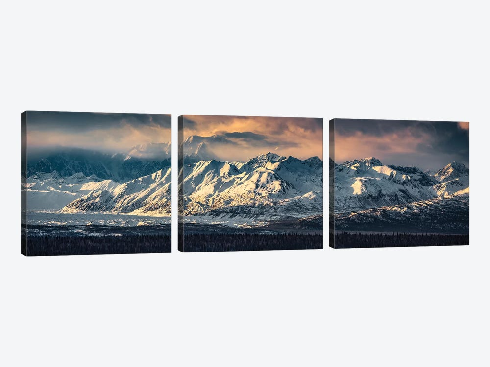 Your Majesty - Denali, Alaska by Stefan Hefele 3-piece Art Print