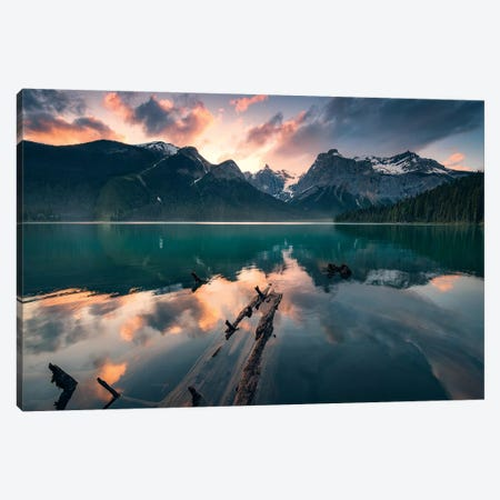 Burning Emerald Canvas Print #STF190} by Stefan Hefele Canvas Art