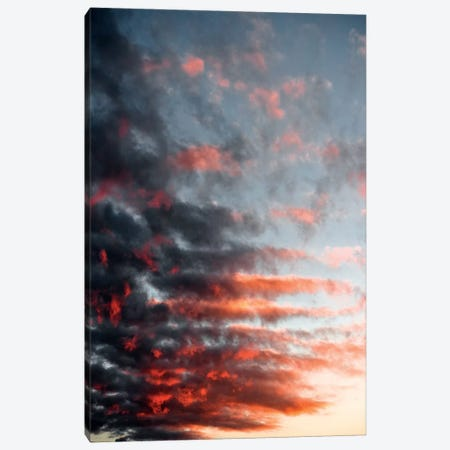 Burning Sky Canvas Print #STF191} by Stefan Hefele Canvas Artwork