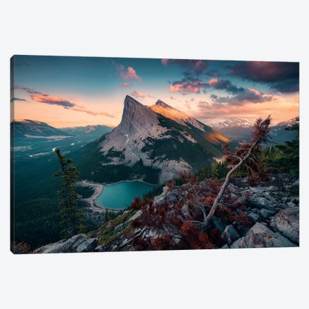 Crooked Mountains Canvas Print #STF198} by Stefan Hefele Canvas Wall Art