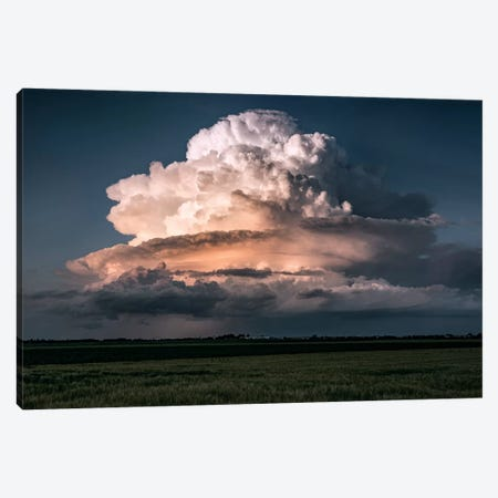 Cumulus Epos Canvas Print #STF199} by Stefan Hefele Canvas Wall Art