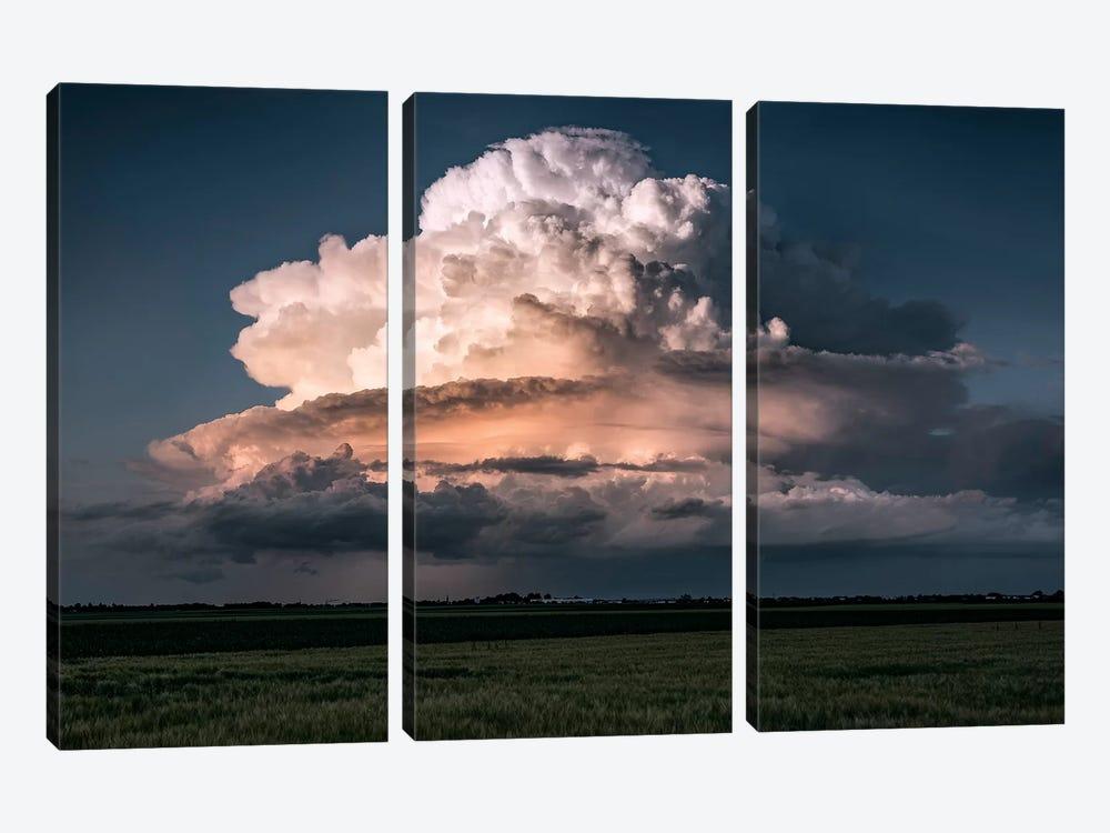 Cumulus Epos by Stefan Hefele 3-piece Canvas Wall Art