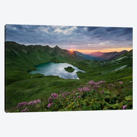 30 Seconds Light, The Alps Canvas Print #STF1} by Stefan Hefele Canvas Artwork