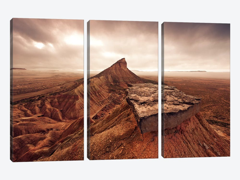 Desert Magic by Stefan Hefele 3-piece Canvas Art Print