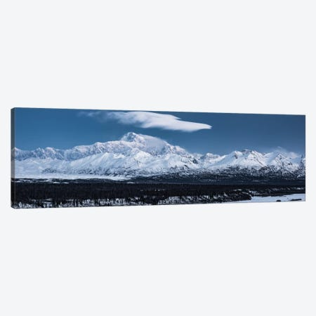Blue Mount McKinley Canvas Print #STF20} by Stefan Hefele Art Print