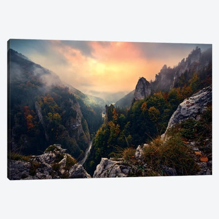Forgotten Kingdom Canvas Print #STF213} by Stefan Hefele Canvas Print