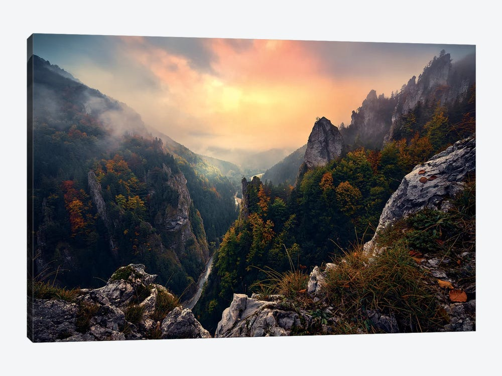 Forgotten Kingdom by Stefan Hefele 1-piece Canvas Art
