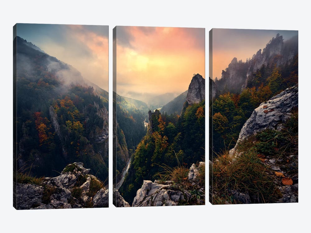 Forgotten Kingdom 3-piece Canvas Art