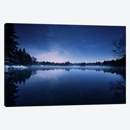 Glowing Stars Canvas Print #STF215} by Stefan Hefele Canvas Art