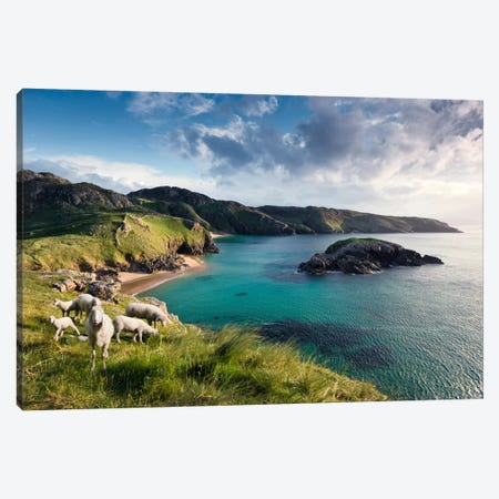 Breathtaking Ireland Canvas Print #STF21} by Stefan Hefele Canvas Print