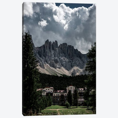 Latemar Grand Hotel Carezza Canvas Print #STF231} by Stefan Hefele Canvas Print