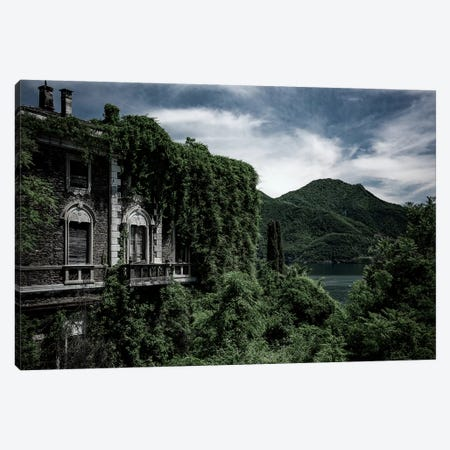 Lost Villa Canvas Print #STF233} by Stefan Hefele Art Print