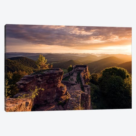 Magic Light Canvas Print #STF234} by Stefan Hefele Canvas Wall Art