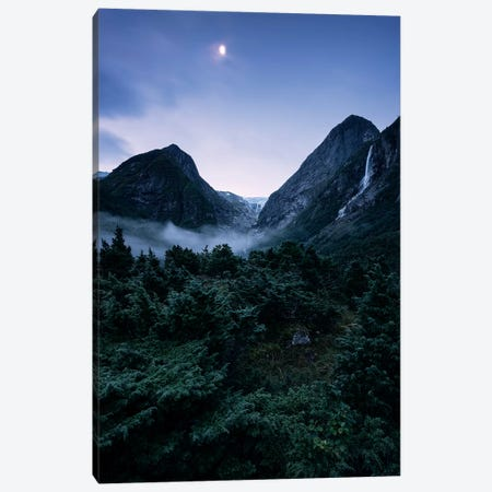 Moonaffaire Canvas Print #STF238} by Stefan Hefele Canvas Print