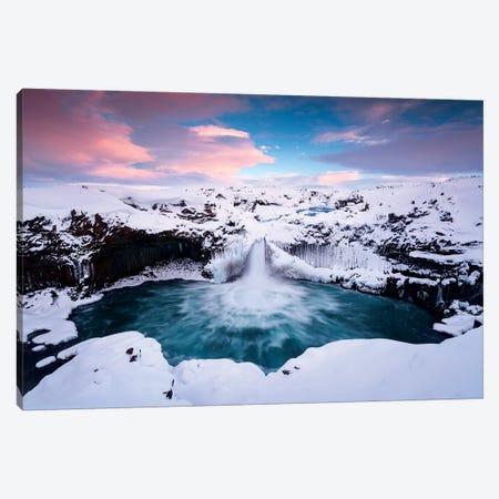 Symphony of Ice Canvas Print #STF247} by Stefan Hefele Canvas Art Print