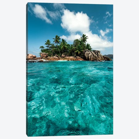 Treasure Island II Canvas Print #STF254} by Stefan Hefele Canvas Artwork