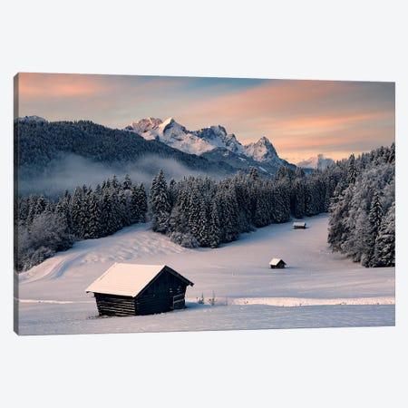 Winteridyll Canvas Print #STF259} by Stefan Hefele Canvas Art Print