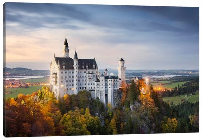 Castle Neuschwanstein, Schwangau, Germany Canvas Art Print