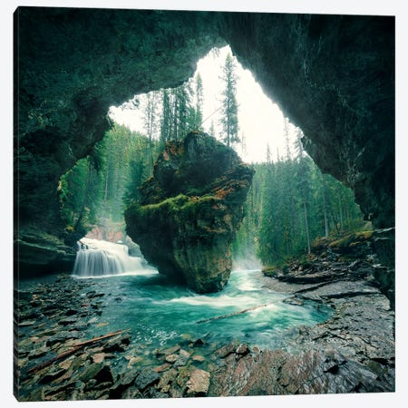 Wizard´s Cave Canvas Print #STF260} by Stefan Hefele Canvas Art