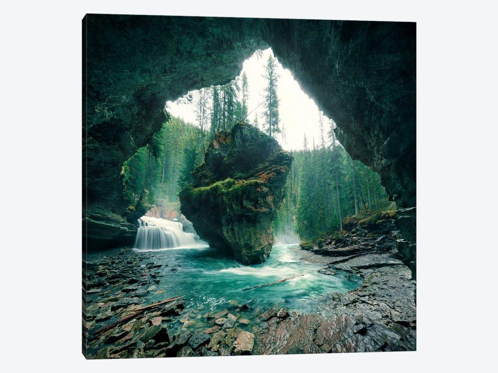 Wizard´s Cave by Stefan Hefele 1-piece Canvas Art