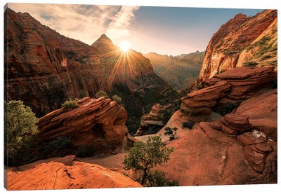 Zion Canvas Art Print