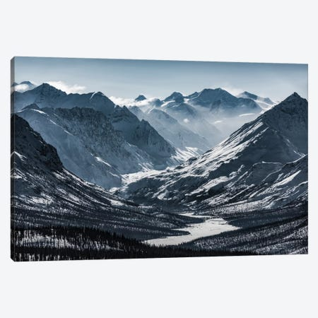 Chugach Mountains, Alaska Canvas Print #STF29} by Stefan Hefele Canvas Art Print