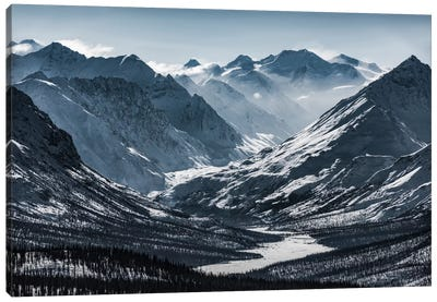Chugach Mountains, Alaska Canvas Art Print