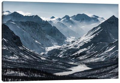 Chugach Mountains, Alaska Canvas Art Print