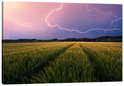 Country Storm Canvas Art Print