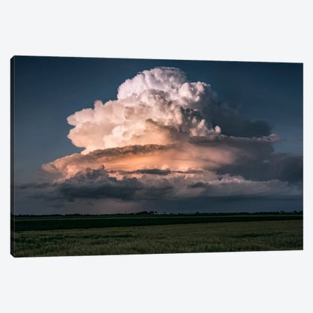 Cumulus Epos II Canvas Print #STF38} by Stefan Hefele Canvas Art
